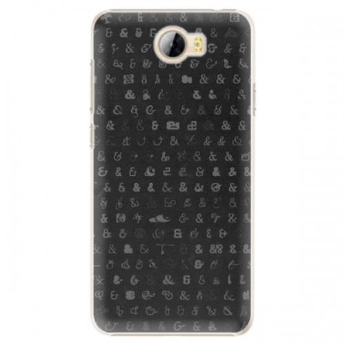 Plastové pouzdro iSaprio - Ampersand 01 - Huawei Y5 II / Y6 II Compact