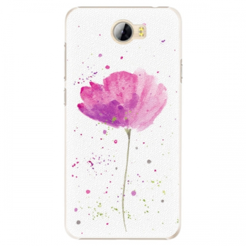 Plastové pouzdro iSaprio - Poppies - Huawei Y5 II / Y6 II Compact
