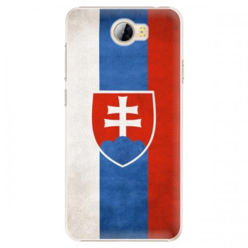 Plastové pouzdro iSaprio - Slovakia Flag - Huawei Y5 II / Y6 II Compact