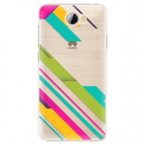 Plastové pouzdro iSaprio - Color Stripes 03 - Huawei Y5 II / Y6 II Compact