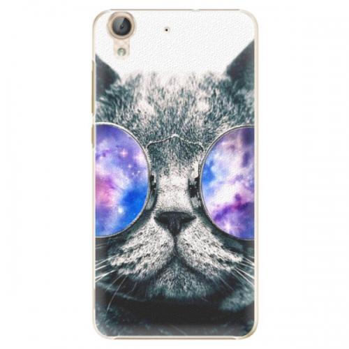 Plastové pouzdro iSaprio - Galaxy Cat - Huawei Y6 II