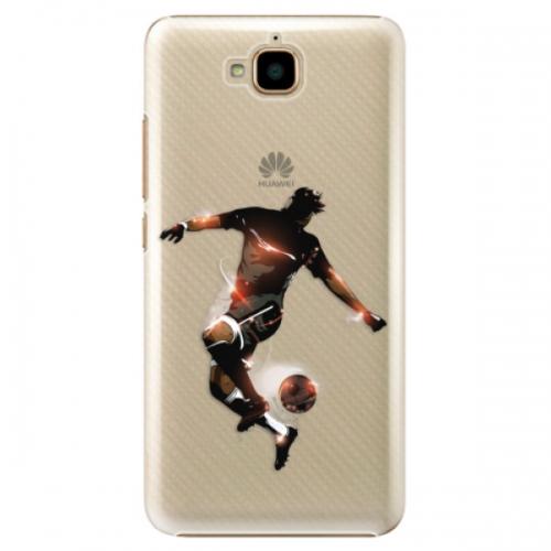 Plastové pouzdro iSaprio - Fotball 01 - Huawei Y6 Pro