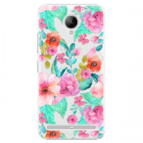 Plastové pouzdro iSaprio - Flower Pattern 01 - Lenovo C2
