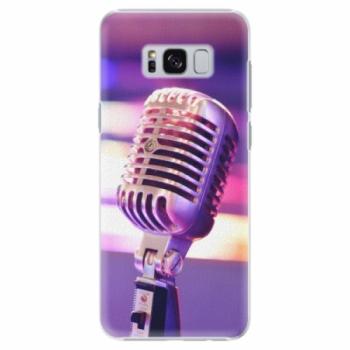 Plastové pouzdro iSaprio - Vintage Microphone - Samsung Galaxy S8