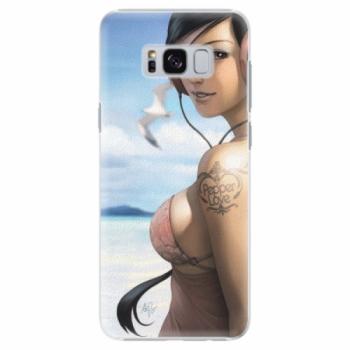 Plastové pouzdro iSaprio - Girl 02 - Samsung Galaxy S8
