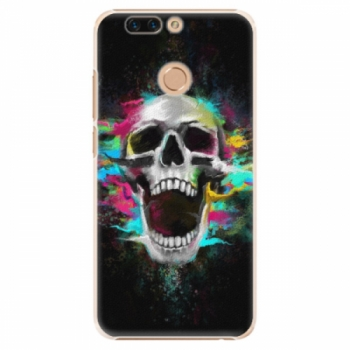 Plastové pouzdro iSaprio - Skull in Colors - Huawei Honor 8 Pro
