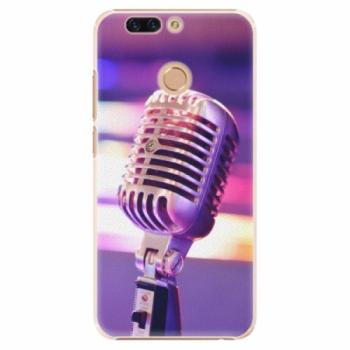 Plastové pouzdro iSaprio - Vintage Microphone - Huawei Honor 8 Pro