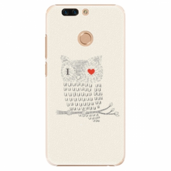 Plastové pouzdro iSaprio - I Love You 01 - Huawei Honor 8 Pro