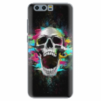 Plastové pouzdro iSaprio - Skull in Colors - Huawei Honor 9