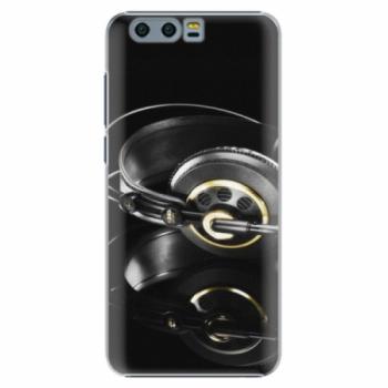 Plastové pouzdro iSaprio - Headphones 02 - Huawei Honor 9