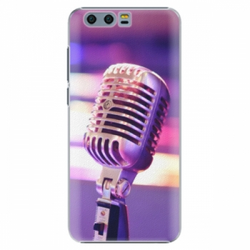 Plastové pouzdro iSaprio - Vintage Microphone - Huawei Honor 9