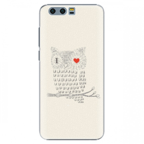 Plastové pouzdro iSaprio - I Love You 01 - Huawei Honor 9