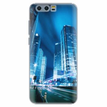 Plastové pouzdro iSaprio - Night City Blue - Huawei Honor 9
