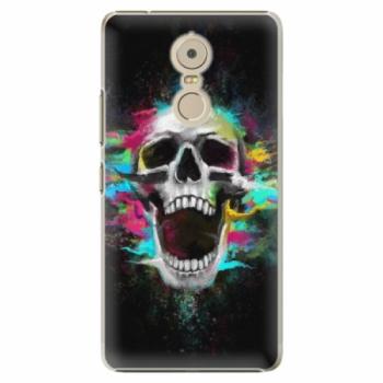 Plastové pouzdro iSaprio - Skull in Colors - Lenovo K6 Note