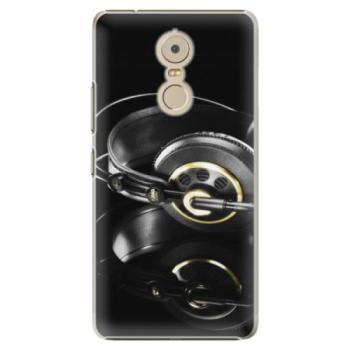 Plastové pouzdro iSaprio - Headphones 02 - Lenovo K6 Note