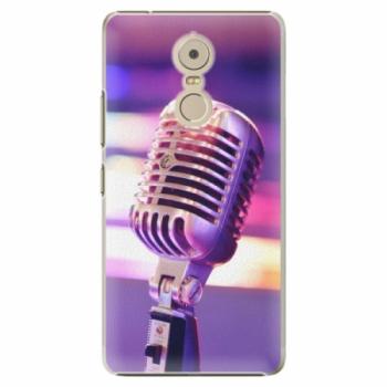 Plastové pouzdro iSaprio - Vintage Microphone - Lenovo K6 Note
