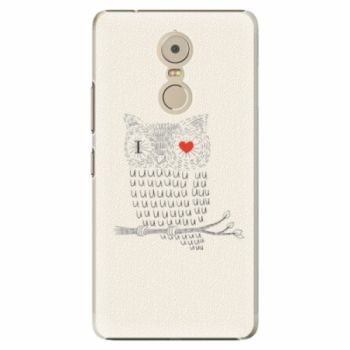 Plastové pouzdro iSaprio - I Love You 01 - Lenovo K6 Note