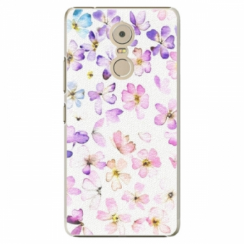 Plastové pouzdro iSaprio - Wildflowers - Lenovo K6 Note