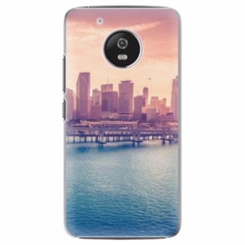 Plastové pouzdro iSaprio - Morning in a City - Lenovo Moto G5