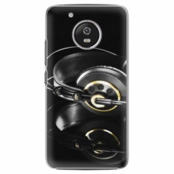 Plastové pouzdro iSaprio - Headphones 02 - Lenovo Moto G5