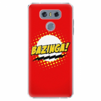 Plastové pouzdro iSaprio - Bazinga 01 - LG G6 (H870)