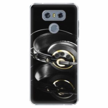 Plastové pouzdro iSaprio - Headphones 02 - LG G6 (H870)
