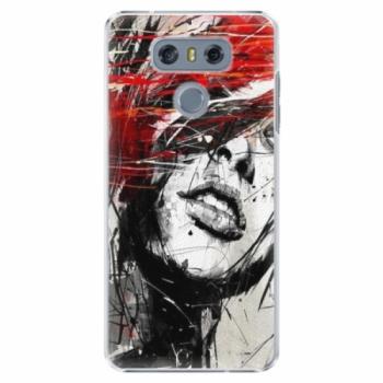 Plastové pouzdro iSaprio - Sketch Face - LG G6 (H870)