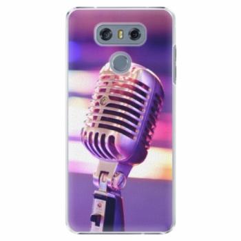 Plastové pouzdro iSaprio - Vintage Microphone - LG G6 (H870)