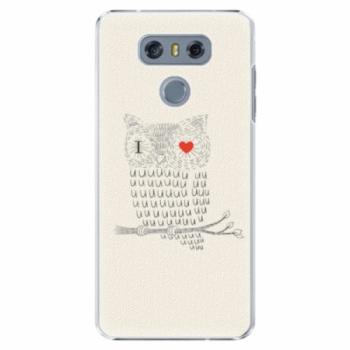 Plastové pouzdro iSaprio - I Love You 01 - LG G6 (H870)
