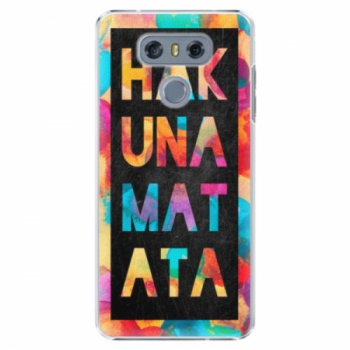 Plastové pouzdro iSaprio - Hakuna Matata 01 - LG G6 (H870)