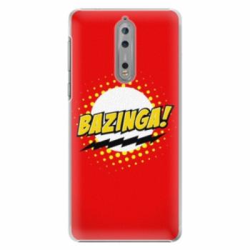 Plastové pouzdro iSaprio - Bazinga 01 - Nokia 8