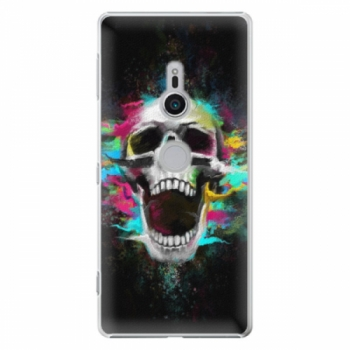 Plastové pouzdro iSaprio - Skull in Colors - Sony Xperia XZ2