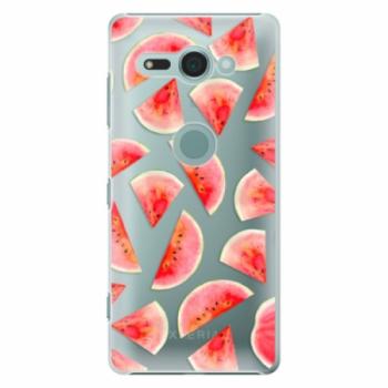 Plastové pouzdro iSaprio - Melon Pattern 02 - Sony Xperia XZ2 Compact