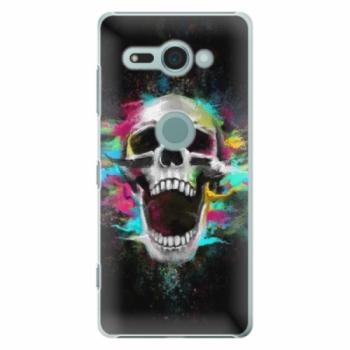 Plastové pouzdro iSaprio - Skull in Colors - Sony Xperia XZ2 Compact