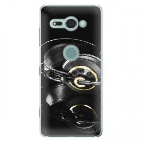 Plastové pouzdro iSaprio - Headphones 02 - Sony Xperia XZ2 Compact