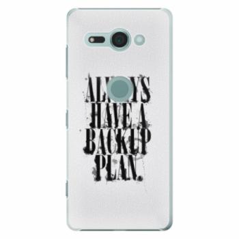 Plastové pouzdro iSaprio - Backup Plan - Sony Xperia XZ2 Compact