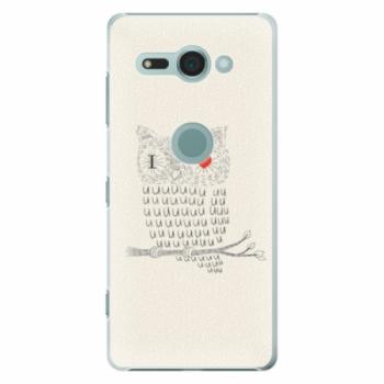 Plastové pouzdro iSaprio - I Love You 01 - Sony Xperia XZ2 Compact