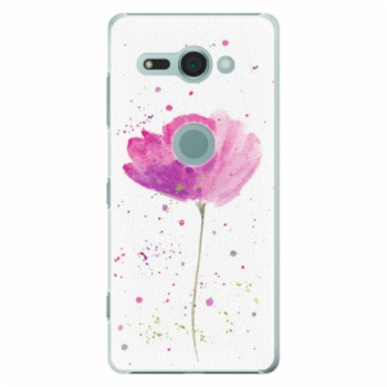 Plastové pouzdro iSaprio - Poppies - Sony Xperia XZ2 Compact