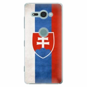 Plastové pouzdro iSaprio - Slovakia Flag - Sony Xperia XZ2 Compact