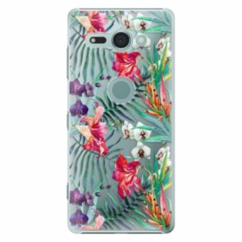 Plastové pouzdro iSaprio - Flower Pattern 03 - Sony Xperia XZ2 Compact