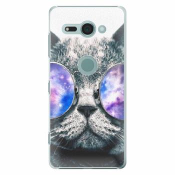 Plastové pouzdro iSaprio - Galaxy Cat - Sony Xperia XZ2 Compact