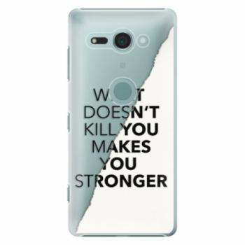 Plastové pouzdro iSaprio - Makes You Stronger - Sony Xperia XZ2 Compact