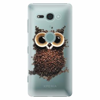 Plastové pouzdro iSaprio - Owl And Coffee - Sony Xperia XZ2 Compact