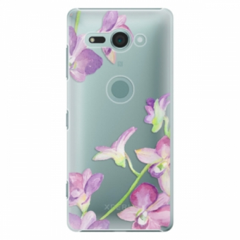 Plastové pouzdro iSaprio - Purple Orchid - Sony Xperia XZ2 Compact
