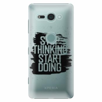 Plastové pouzdro iSaprio - Start Doing - black - Sony Xperia XZ2 Compact