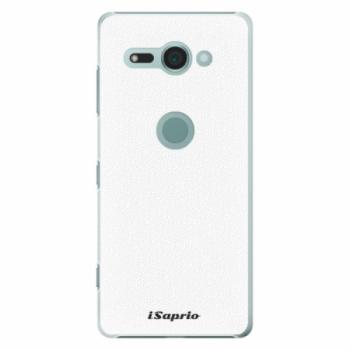 Plastové pouzdro iSaprio - 4Pure - bílý - Sony Xperia XZ2 Compact