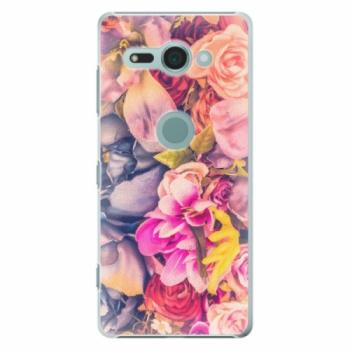 Plastové pouzdro iSaprio - Beauty Flowers - Sony Xperia XZ2 Compact