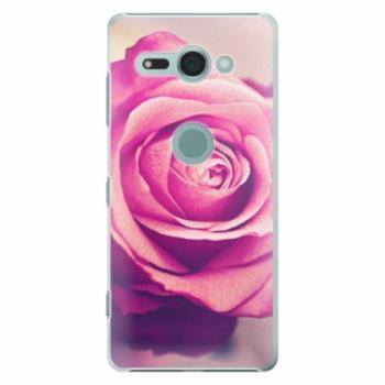 Plastové pouzdro iSaprio - Pink Rose - Sony Xperia XZ2 Compact