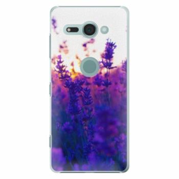 Plastové pouzdro iSaprio - Lavender Field - Sony Xperia XZ2 Compact
