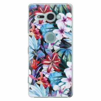 Plastové pouzdro iSaprio - Tropical Flowers 05 - Sony Xperia XZ2 Compact